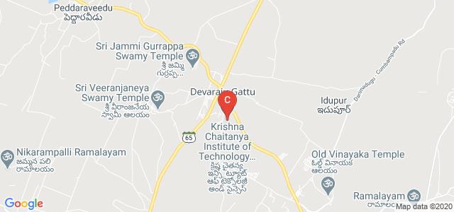 Krishna Chaitanya Institute of Technology & Sciences, Prakasam, Andhra Pradesh, India