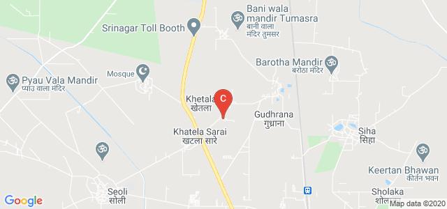 Delhi College Of Technology And Management, Khatela Sarai, Palwal, Haryana, India