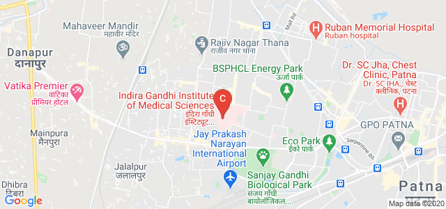 Indira Gandhi Institute of Medical Sciences, Allahabad bank, Bailey Rd, Sheikhpura, Patna, Bihar, India