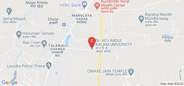 Dr. A.P.J. ABDUL KALAM UNIVERSITY, Mangliya, Indore, Madhya Pradesh, India