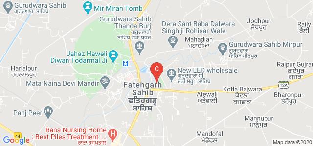 Baba Banda Singh Bahadur Engineering College, Fatehgarh Sahib, Punjab, India