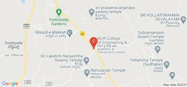 M.J.R. College of Engineering & Technology, Piler, Yerraguntlapalle, Chittoor, Andhra Pradesh, India