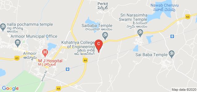 Kshatriya College of Engineering, Armoor, Nizamabad, Telangana, India