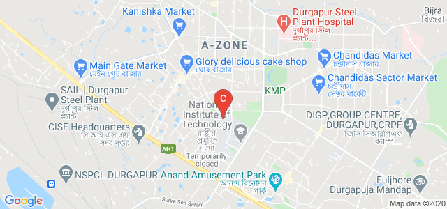 National Institute of Technology, Mahatma Gandhi Road, A-Zone, Durgapur, West Bengal, India