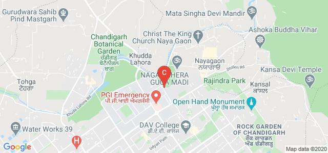 Punjab Engineering College, Vidya Path, Sector 12, Chandigarh, India