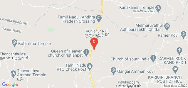 Kingston Engineering College, East Main Road, Christainpet, Katpadi, Vellore, Tamil Nadu, India
