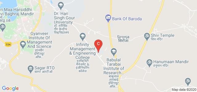 Infinity Management & Engineering College,Sagar, Sagar, Madhya Pradesh, India