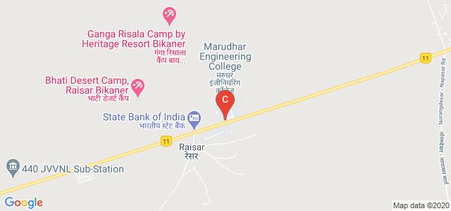 Marudhar Engineering College Garden, National Highway 11, Bikaner, Rajasthan, India