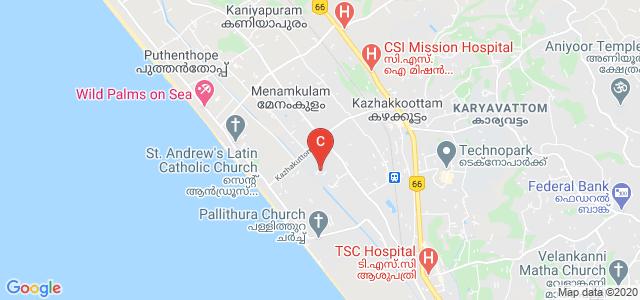 Marian Engineering College, Menamkulam, Kerala, India