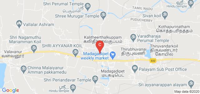 Manakula Vinayagar Institute of Technology, Kalitheerthalkuppam, Puducherry, India