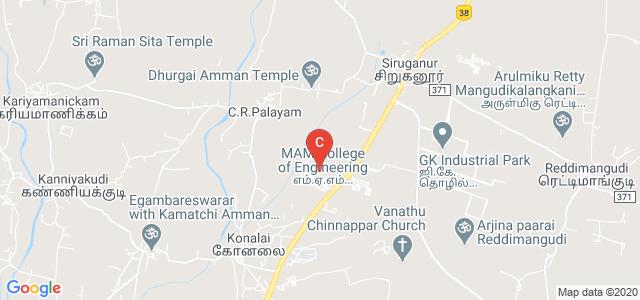 MAM School of Engineering, Siruganur, Tamil Nadu, India
