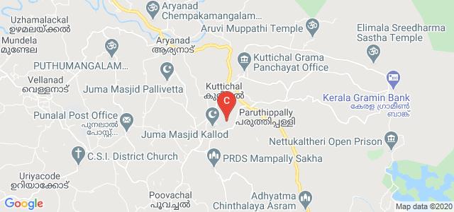 Lourdes Matha College of Science & Technology, Lourdes Hills, Thiruvananthapuram, Kerala, India