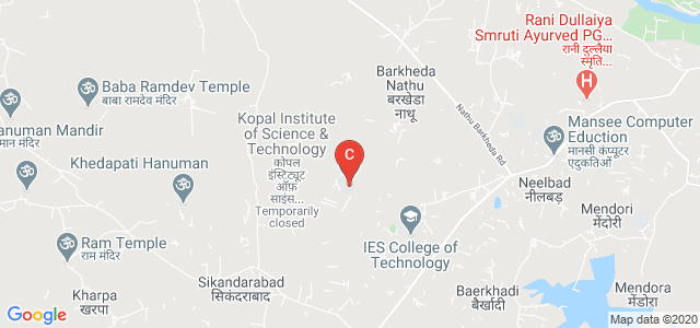 Kopal Institute of Science & Technology, Kalkheda Rd, Neelbad Square, Bhopal, Madhya Pradesh, India