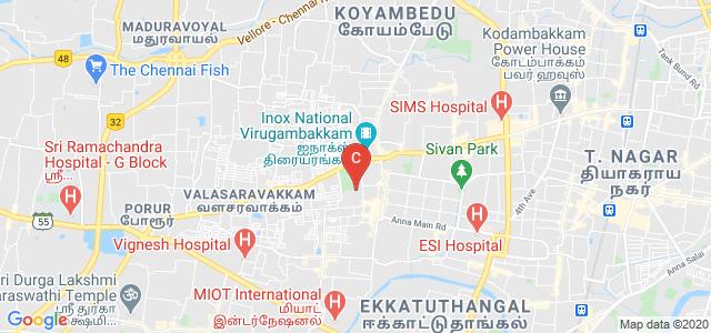 Meenakshi College Of Engineering, Vembuliamman Koil Street, Annaji Nagar, KK Nagar West, KK Nagar, Chennai, Tamil Nadu, India