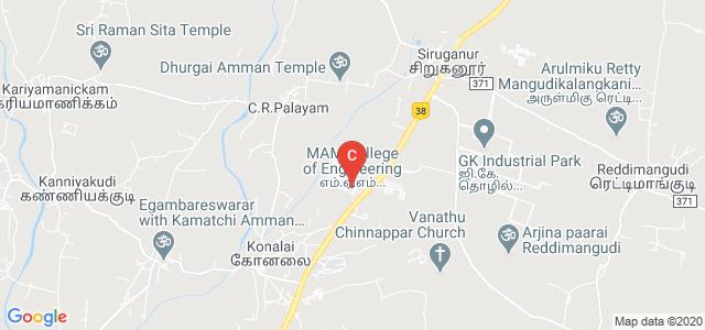M. A. M. College of Engineering, Trichy, Tiruchirappalli, Tamil Nadu, India