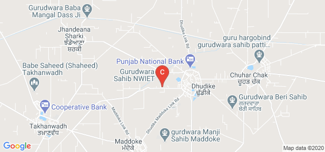 North West Institute of Engineering & Technology, Dhudike Takhanwadh Link Road, Dhudike, Punjab, India