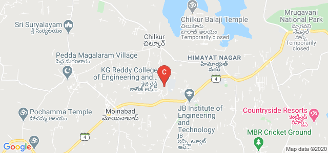 KG Reddy College of Engineering and Technology, Hyderabad, Telangana, India