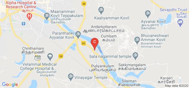 VELAMMAL COLLEGE OF ENGINEERING AND TECHNOLOGY, Rameshwaram High Road, Viraganoor, Madurai, Tamil Nadu, India