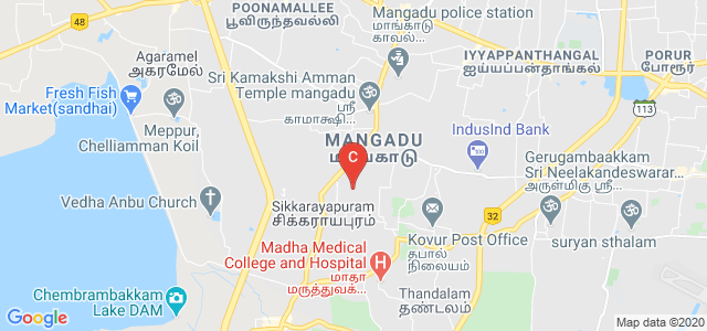 Sri Muthukumaran Institute of Technology (SMIT), Mangadu Rd, Chikkarayapuram, Chennai, Tamil Nadu, India