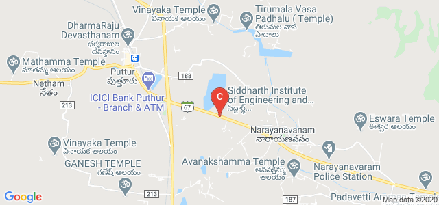 SIETK and SISTK Bus Station, Nandimangalam, Andhra Pradesh, India