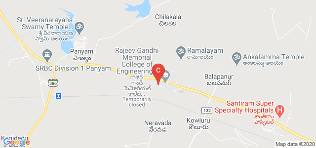 Santhiram Engineering College, Kurnool, Andhra Pradesh, India