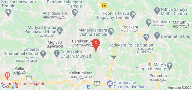 Sahrdaya College of Engineering and Technology, Kodakara, Thrissur, Kerala, India