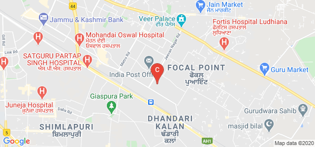 Central Tool Room, Phase V, Focal Point, Ludhiana, Punjab, India