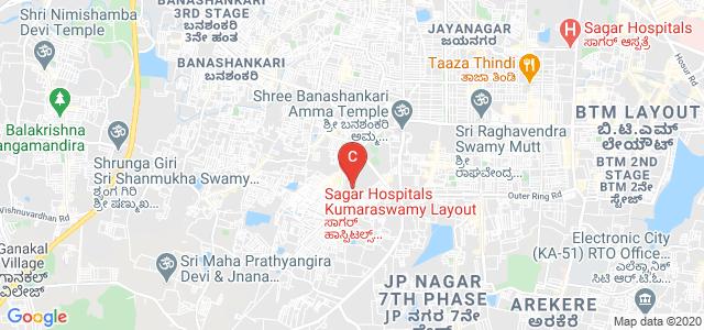Shavige Malleshwara Hills, 95th Cross Road, 1st Stage, Kumaraswamy Layout, Bengaluru, Karnataka, India