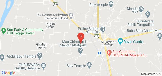 Sbcms Institute of Technology, Attalgarh Road, Randhawa Colony, Mukerian, Hoshiarpur, Punjab, India