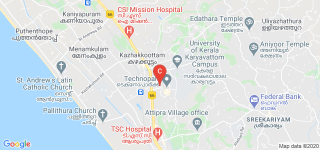 Indian Institute Of Information Technology and Management, Technopark Road, Technopark Campus, Karyavattom, Trivandrum, Kerala, India