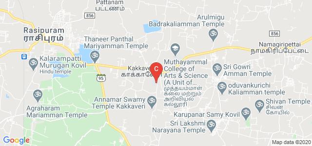 Muthayammal College of Engineering, Rasipuram, Namakkal, Tamil Nadu, India