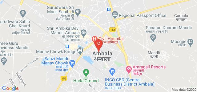 Ambala, Haryana 134003, India