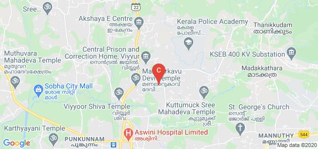 Government Engineering College Thrissur Garden, Viyyur, Pandikkavu, Thrissur, Kerala, India