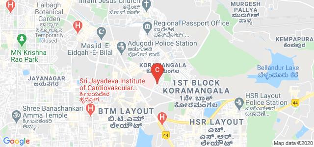 Vemana Institute Of Technology, 5th Cross Road, Koramangala, Bengaluru, Karnataka, India