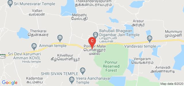 Thiruvalluvar College of Engineering & Technology, Ponnur Malai, Tamil Nadu, India