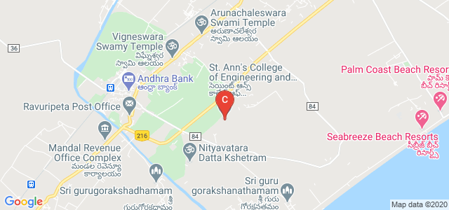 St. Ann's College of Engineering and Technology, Chirala, Andhra Pradesh, India