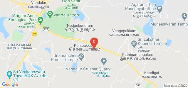 Sri Ramanujar Engineering College, Chennai, Tamil Nadu, India