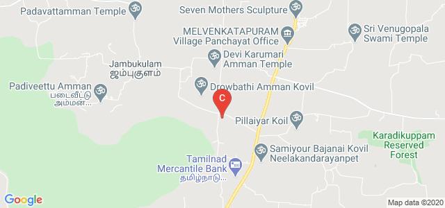 Saraswathi Velu College of Engineering, Melvenkatapuram, Sholinghur, Tamil Nadu, India