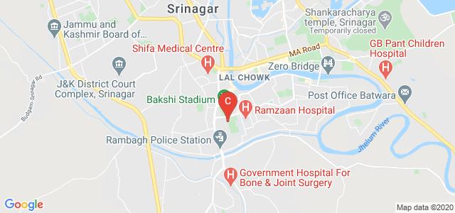 Cluster University Srinagar, Gogji Bagh, Jawahar Nagar, Srinagar