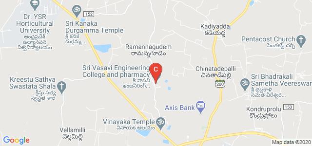 Sri Vasavi Engineering College, Tadepalligudem, Andhra Pradesh, India