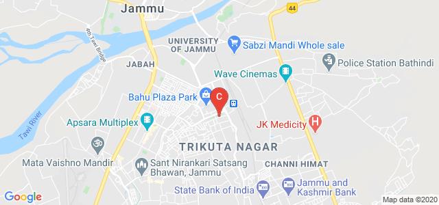 Baba Ghulam Shah Badshah University Jammu Campus, Trikuta Nagar, Jammu