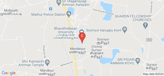 Bharathidasan University, Tiruchirappalli, Tamil Nadu, India