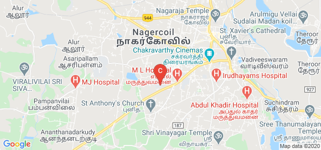 University College of Engineering Nagercoil, Punnai Nagar, Nagercoil, Tamil Nadu, India
