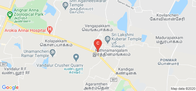 Tagore Engineering College, Kelambakkam - Vandalur Road, Chennai, Tamil Nadu, India