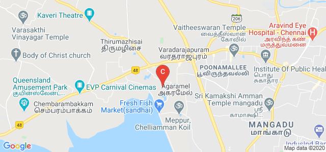 SKR Engineering College, Poonamallee, Chennai, Tamil Nadu, India