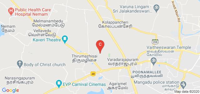 Alpha College Of Engineering, Koil St, Poonamallee, Chennai, Tamil Nadu, India