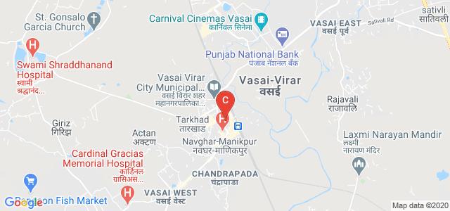 Vidyavardhini's College of Engineering and Technology, Shastri Nagar, Vishal Nagar, Vasai West, Vasai-Virar, Maharashtra, India