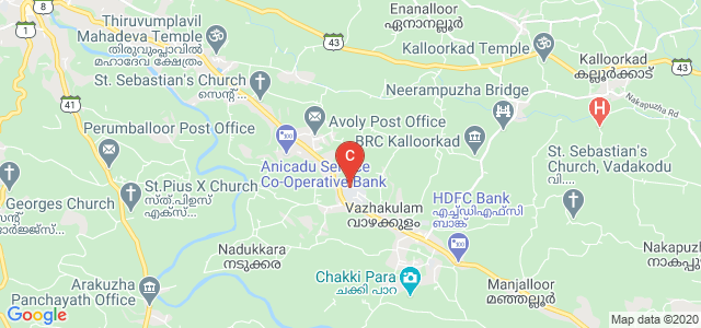 Viswajyothi College of Engineering and Technology, PO, Muvattupuzha, Ernakulam, Kerala, India