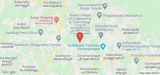 Royal College of Engineering & Technology, Chiramanangad, Kerala, India