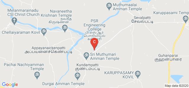 PSR Engineering College, Sivakasi, Sevalpatti, Tamil Nadu, India